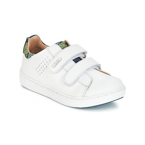 Aster SIMAC boys's Children's Shoes (Trainers) in White