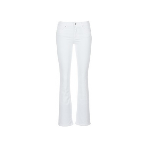 Moony Mood IALOLAO women's Bootcut Jeans in White