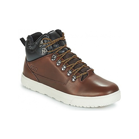 DVS VANGUARD+ men's Shoes (High-top Trainers) in Brown