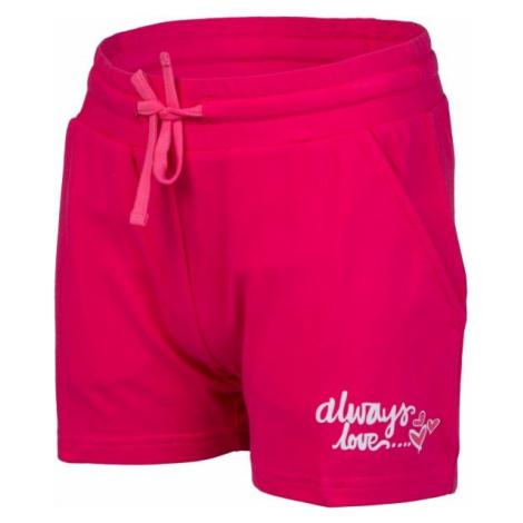 Lewro ORIANA pink - Girls' shorts