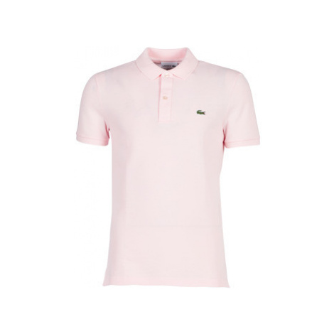 Lacoste PH4012 SLIM men's Polo shirt in Pink