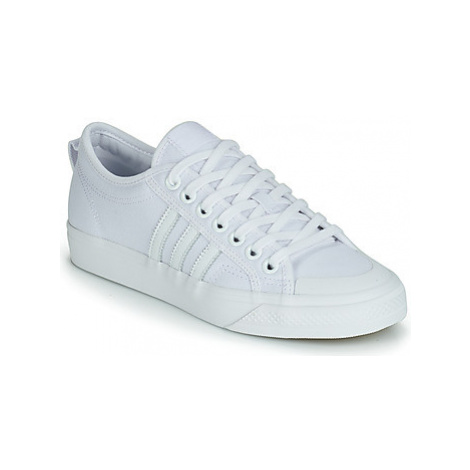 Adidas NIZZA men's Shoes (Trainers) in White