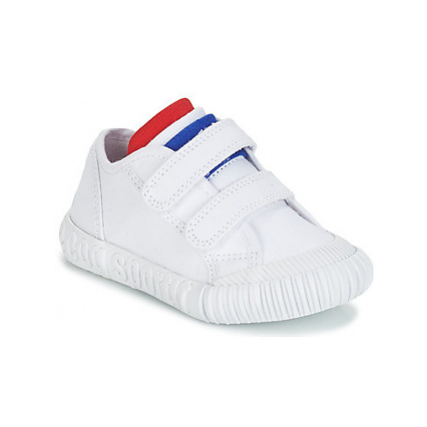 Le Coq Sportif NATIONALE INF girls's Children's Shoes (Trainers) in White