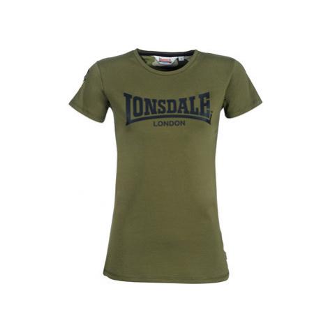Lonsdale MARYLEE women's T shirt in Kaki