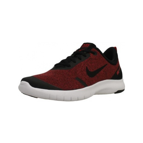 Nike FLEX EXPERIENCE RN 8 (G boys's Children's Shoes (Trainers) in Red