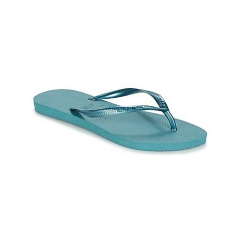 Havaianas SLIM women's Flip flops / Sandals (Shoes) in Blue