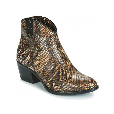 Metamorf'Ose FALERS women's Mid Boots in Brown