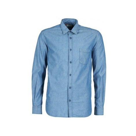 Serge Blanco RUGBY LIFE men's Long sleeved Shirt in Blue