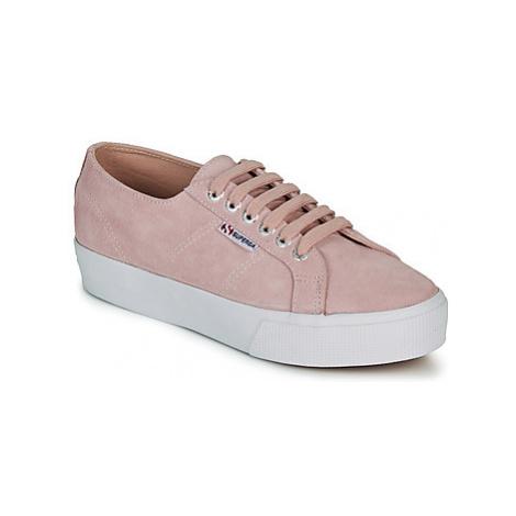 Superga 2730 SUEU women's Shoes (Trainers) in Pink