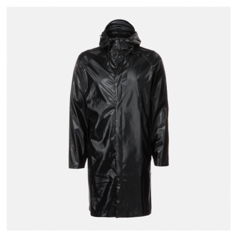 RAINS Coat - Shiny Black - S-M