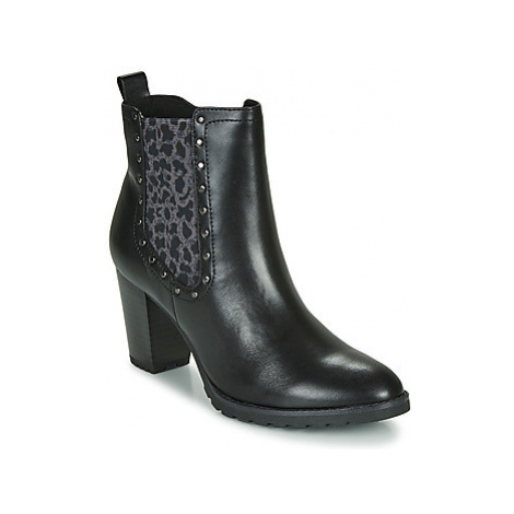 Caprice LUTIMA women's Low Ankle Boots in Black