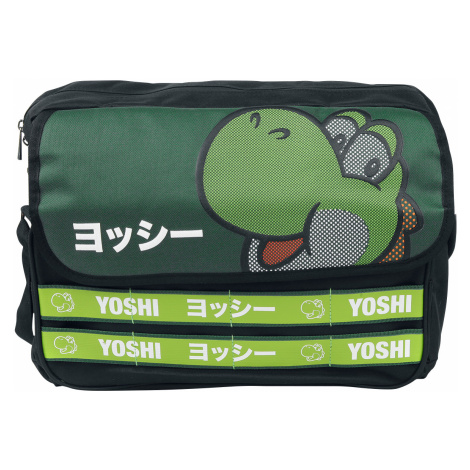 Super Mario - Yoshi - Shoulder bag - green-black