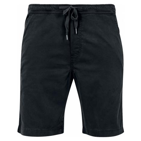 Urban Classics - Stretch Twill Jogging Shorts - Shorts - black