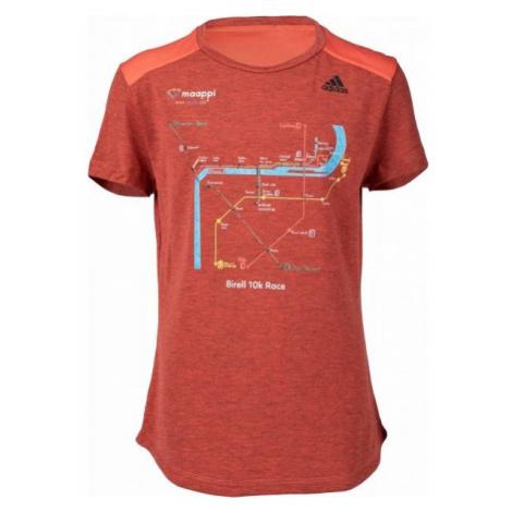 adidas PRIME TEE MIX orange - Women's T-shirt