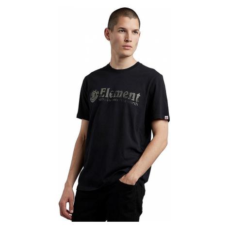T-Shirt Element Bark Horizontal - Flint Black - men´s