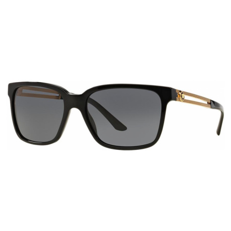 Versace Man VE4307 - Frame color: Black, Lens color: Grey-Black, Size 58-17/145