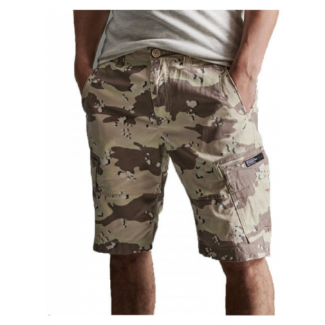 Superdry CORE CARGO SHORTS beige - Men's shorts
