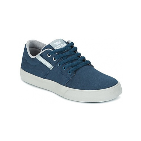 Supra KIDS STACKS II VULC girls's Children's Shoes (Trainers) in Blue