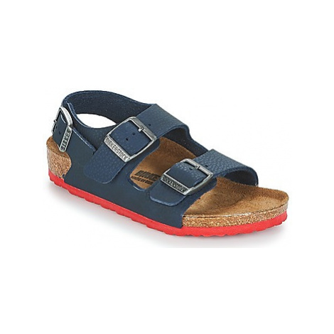 Birkenstock MILANO boys's Children's Sandals in Blue
