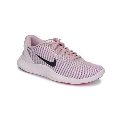 Nike FLEX RUN 2018 women's Sports Trainers (Shoes) in Pink