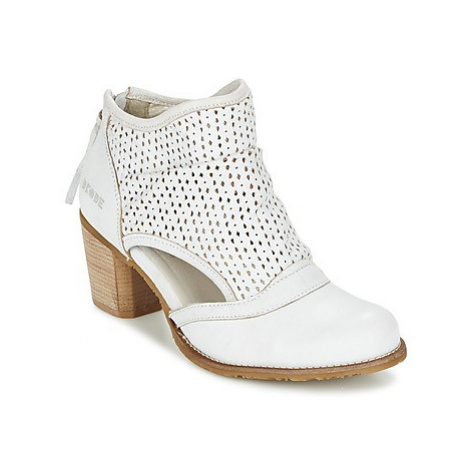 Dkode BAHAL women's Low Ankle Boots in White