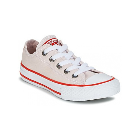 Converse Chuck Taylor All Star Ox Seasonal Color girls's Children's Shoes (Trainers) in Pink