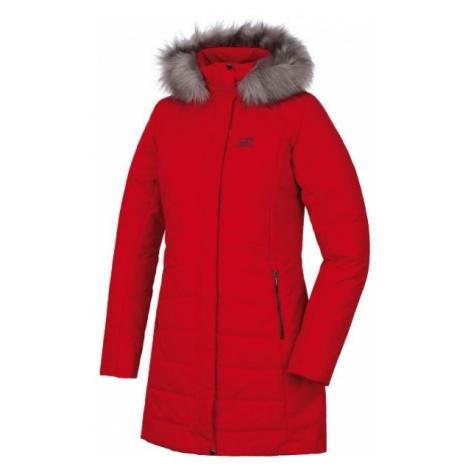 Red women's winter jackets