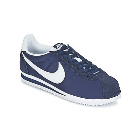 Nike CLASSIC CORTEZ NYLON men's Shoes (Trainers) in Blue