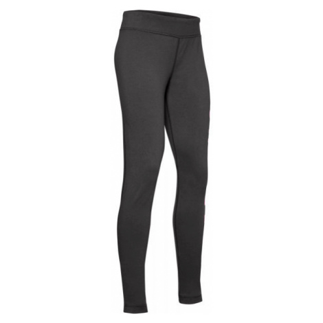 Under Armour SPORTSTYLE BRANDED LEGGING dark gray - Girls' leggings