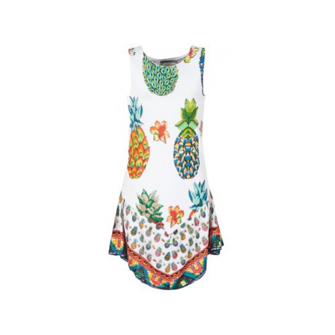 Desigual HOQLER women's Dress in White