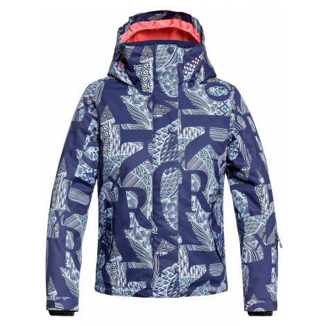 jacket Roxy Jetty - BQY5/Crown Blue/Freespace Girl - girl´s