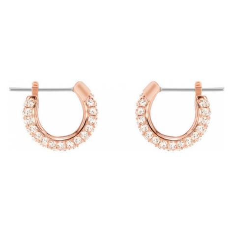 Swarovski Stone Silk Crystal Hoop Earrings