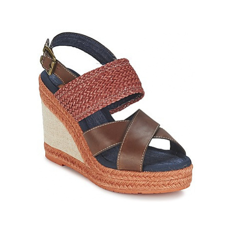 Napapijri BELLE women's Sandals in Brown