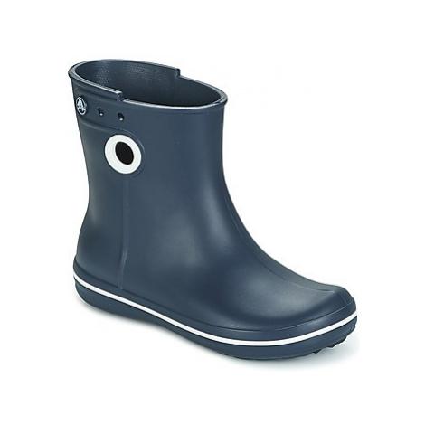 Crocs JAUNT SHORTY BOOTS women's Wellington Boots in Blue