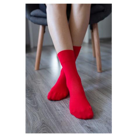 Barefoot Socks - Crew - Red 43-46
