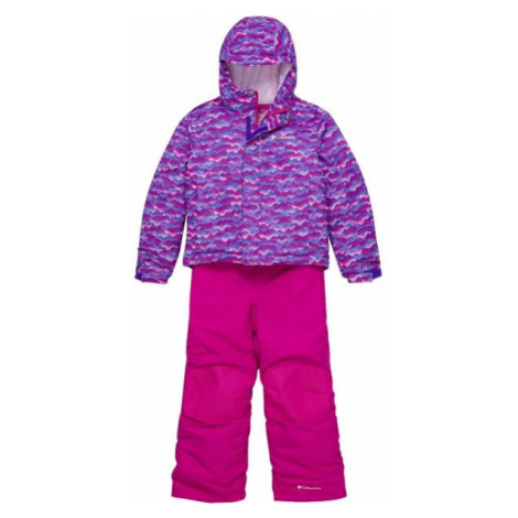 Columbia BUGA SNOW SET pink - Kids' winter set