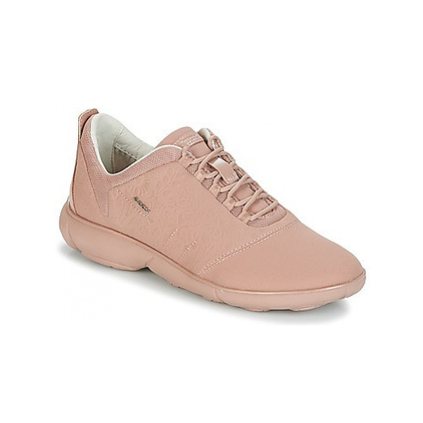 Geox NEBULA women's Shoes (Trainers) in Pink