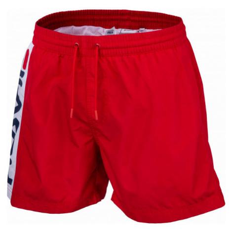 Fila HITOMI BEACH SHORTS red - Men's shorts