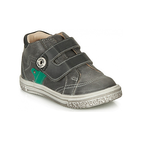 Catimini BICHOU boys's Children's Shoes (High-top Trainers) in Grey