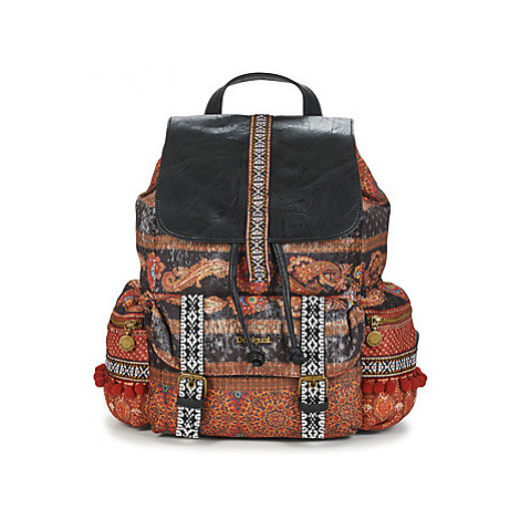 Desigual INDO JAPAN TRIBECA women's Backpack in Multicolour