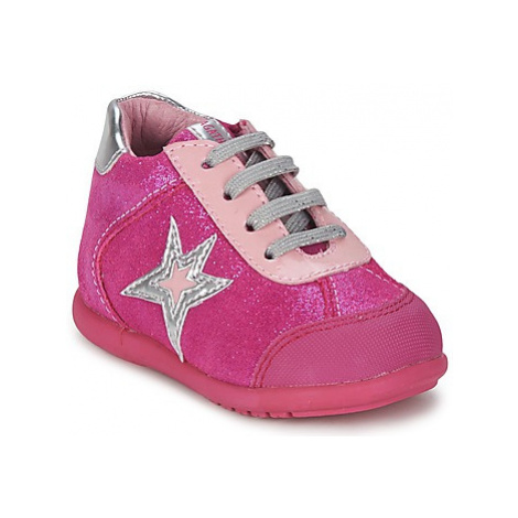 Agatha Ruiz de la Prada BABY BOWLING LACE girls's Children's Shoes (High-top Trainers) in Pink