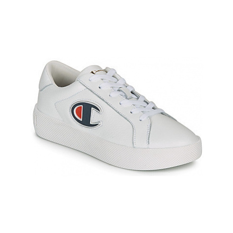 Champion ERA LEATHER women's Shoes (Trainers) in White