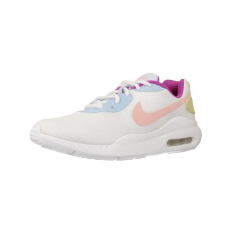 Nike AIR MAX OKETO women's Shoes (Trainers) in White