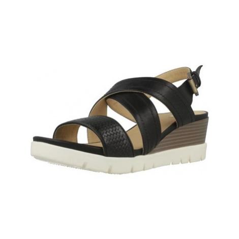 Geox D MARYKARMEN P.B women's Sandals in Black