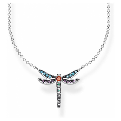 THOMAS SABO Glam & Soul Silver Dragonfly Necklace
