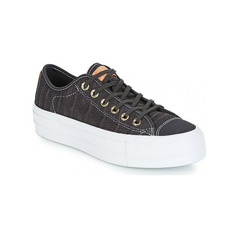 Converse Chuck Taylor All Star Lift-Ox women's Shoes (Trainers) in Black