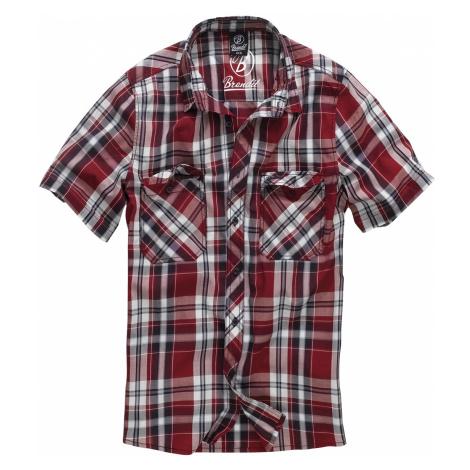Brandit - Roadstar - Workershirt - red-black-white