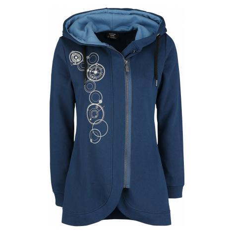 Doctor Who - The Optimist - Girls hooded zip - dark blue