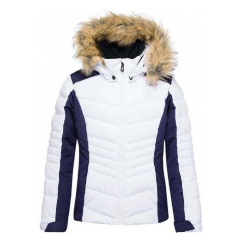 Rossignol GIRL BB POLYDOWN PEARLY JKT white - Girls' ski jacket