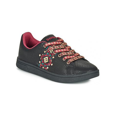Desigual COSMIC NAVAJO women's Shoes (Trainers) in Black